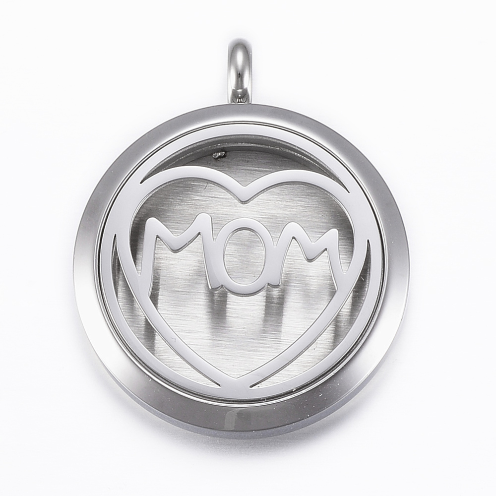 PandaHall_316_Stainless_Steel_Diffuser_Locket_Pendants_with_Perfume_Pad_and_Magnetic_Clasps_Flat_Round_with_Heart_Stainless_Steel_Color
