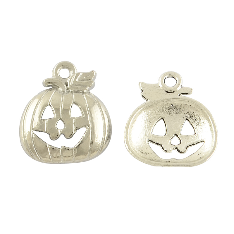 PandaHall_Tibetan_Style_Alloy_Pendants_Pumpkin_for_Halloween_Lead_Free_&_Cadmium_Free_Antique_Silver_18x16x3mm_Hole_15mm_Alloy