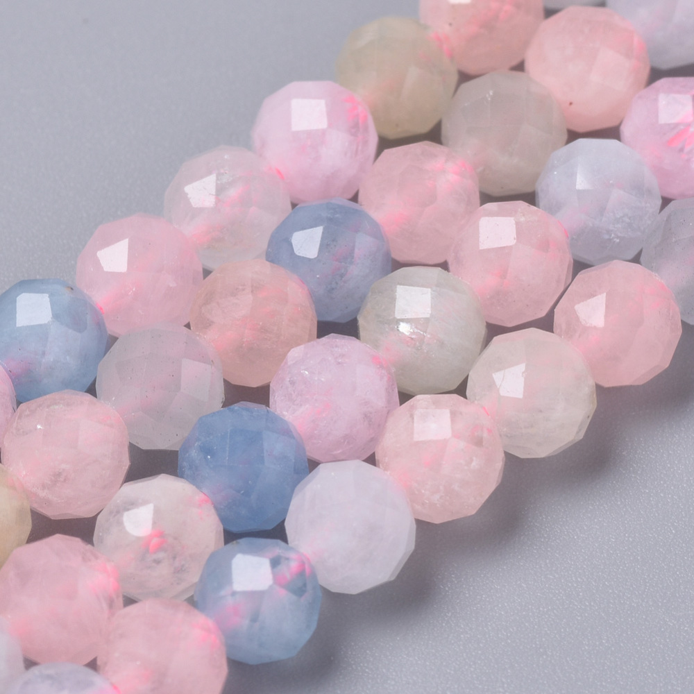 PandaHall_Natural_Morganite_Beads_Strands_Faceted_Round_6mm_Hole_1mm_about_68pcsstrand_157_Morganite_Round