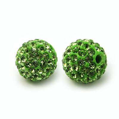 PandaHall_Polymer_Clay_Rhinestone_Beads_Pave_Disco_Ball_Beads_Grade_A_Round_PP15_Peridot_14mm_Hole_15mm_Polymer_ClayGlass