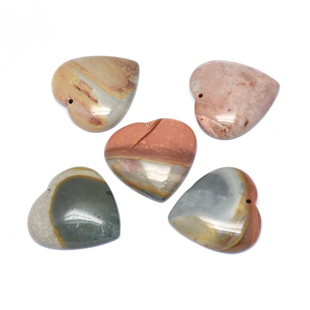 PandaHall_Natural_RegaliteImperial_JasperSea_Sediment_Jasper_Pendants_Heart_39~40x40x8~9mm_Hole_15mm_Regalite_Heart