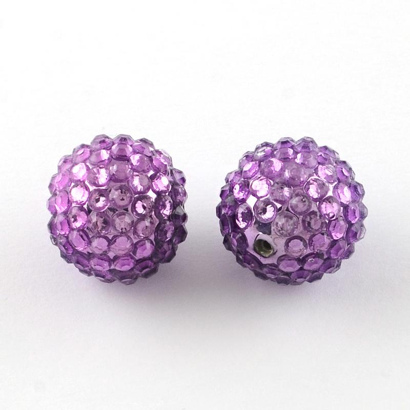 PandaHall_Transparent_Resin_Rhinestone_Graduated_Beads_with_UV_Plating_Acrylic_Round_Beads_Inside_Orchid_16mm_Hole_2~25mm