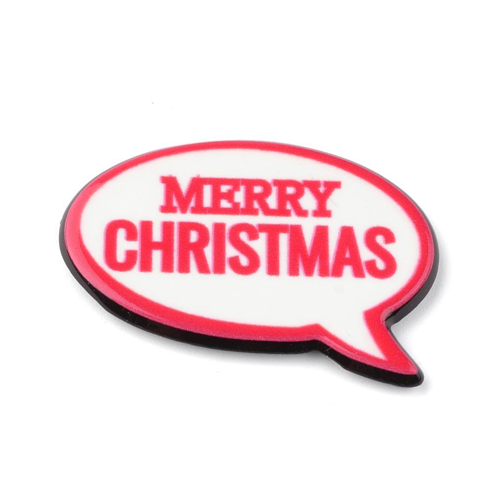 PandaHall_Plastic_Cabochons_Phrase_Merry_Christmas_White_21x285x2mm_Plastic_Word_White