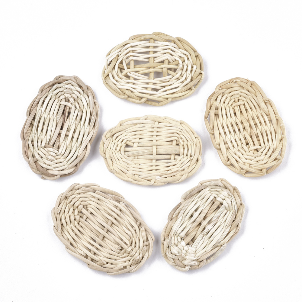 PandaHall_Handmade_Reed_CaneRattan_Woven_Beads_For_Making_Straw_Earrings_and_Necklaces_No_HoleUndrilled_Oval_AntiqueWhite