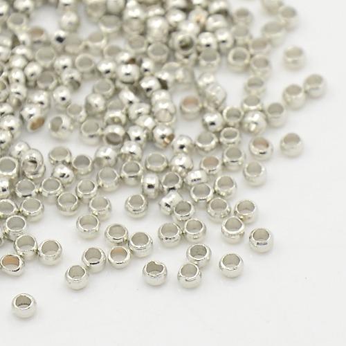 PandaHall_Brass_Crimp_Beads_Nickel_Free_Barrel_Nickel_Color_about_2mm_in_diameter_12mm_long_hole_12mm_Brass_Barrel