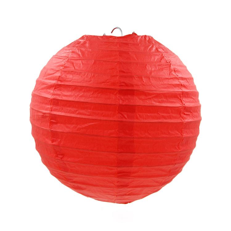PandaHall_Paper_Ball_Lantern_Round_OrangeRed_20cm_Paper_Round_Red