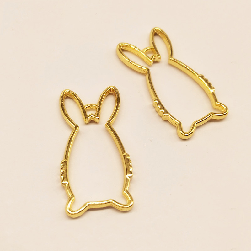 PandaHall_Zinc_Alloy_Open_Back_Bezel_Pendants_For_DIY_UV_Resin_Epoxy_Resin_Pressed_Flower_Jewelry_LongLasting_Plated_Rabbit_Golden