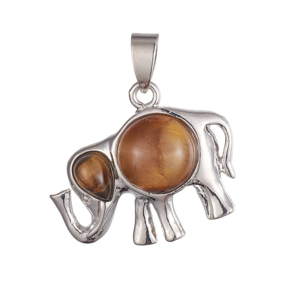PandaHall_Natural_Tiger_Eye_Pendants_with_Brass_Findings_Elephant_Platinum_25~26x30~305x7~8mm_Hole_4~45x6~65mm_Tiger_Eye_Elephant
