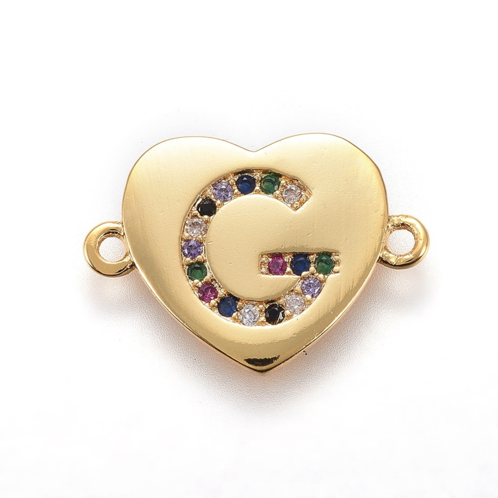 PandaHall_Brass_Micro_Pave_Cubic_Zirconia_Links_Heart_with_Alphabet_Colorful_Golden_LetterG_14~145x195~20x15mm_Hole_15mm