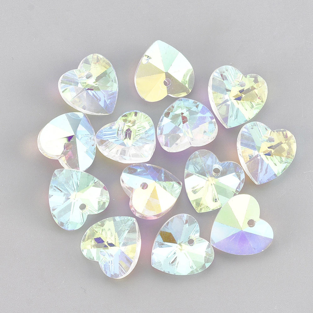 PandaHall_Glass_Rhinestone_Charms_Heart_Crystal_AB_8x8x4mm_Hole_12mm_Glass_Heart