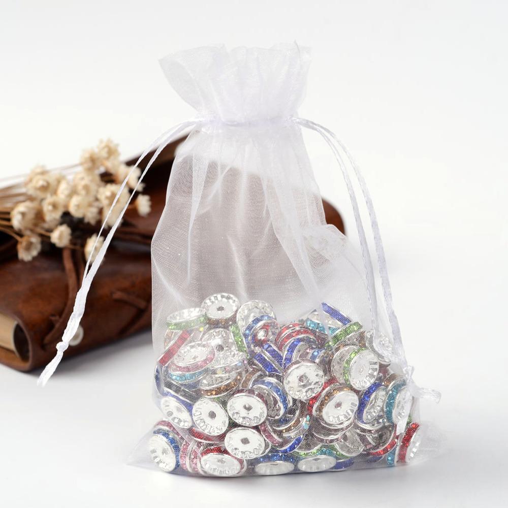 PandaHall_Organza_Gift_Bags_with_Drawstring_Rectangle_White_12x10cm_Organza_Rectangle_White