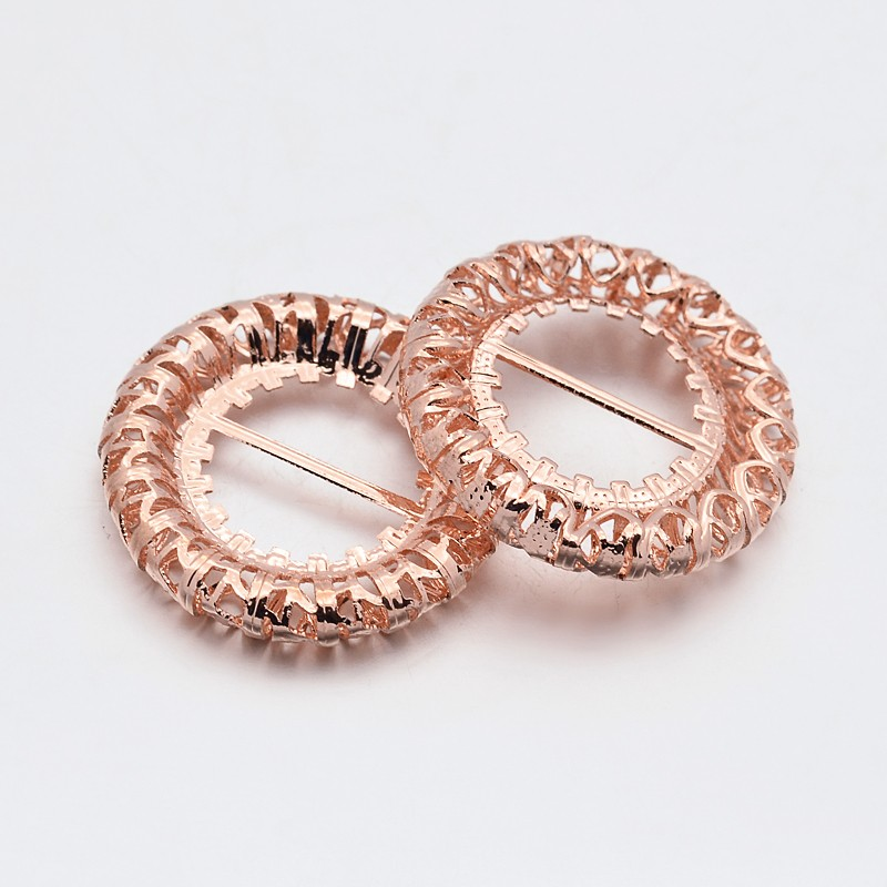 PandaHall_Brass_Hollow_Ring_Dress_Shoe_Buckles_Rose_Gold_23x4mm_Hole_10x55mm_Brass_Ring
