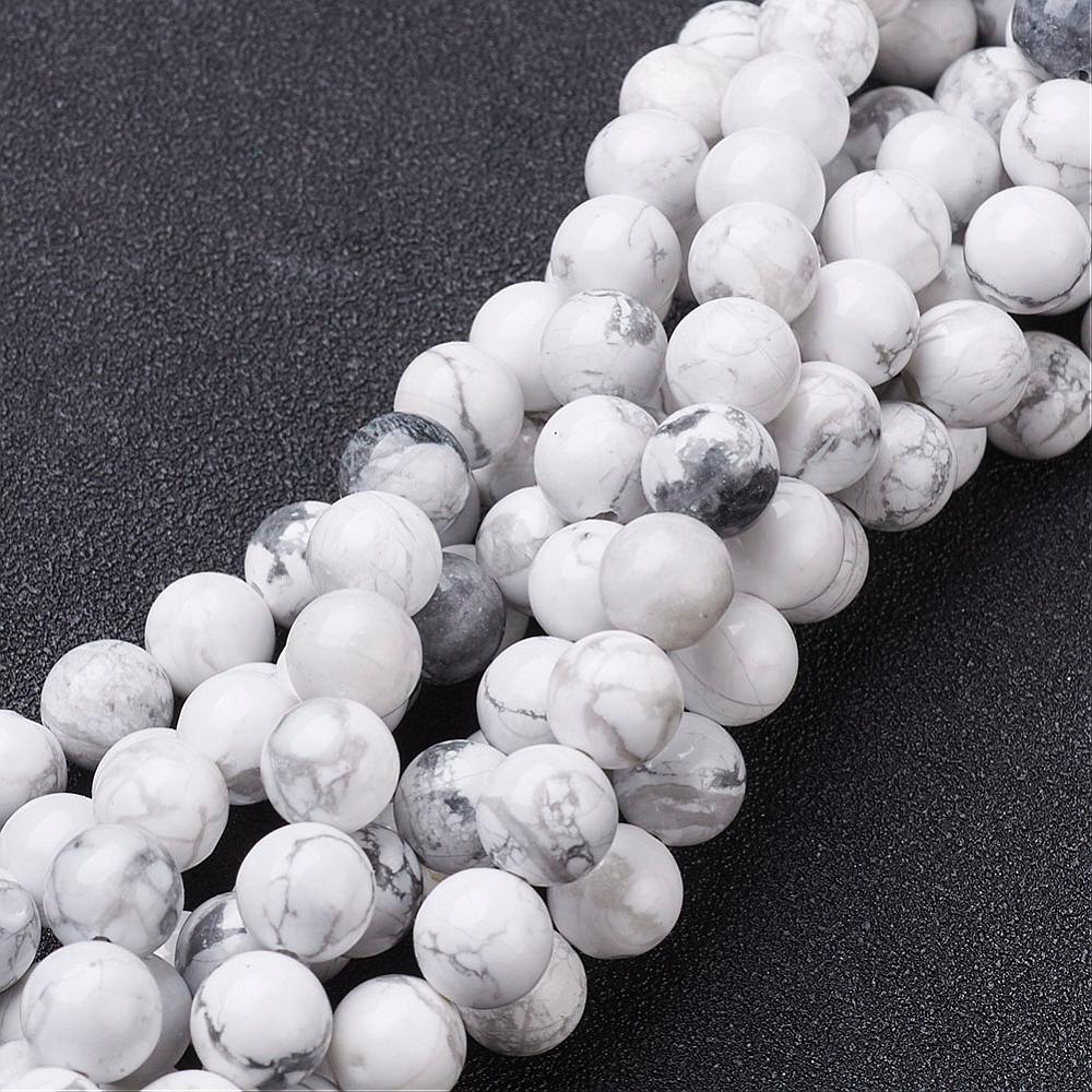 PandaHall_Gemstone_Beads_Strands_Natural_Howlite_Round_Beads_White_about_8mm_in_diameter_hole_about_1mm_15~16_Howlite_Round_White