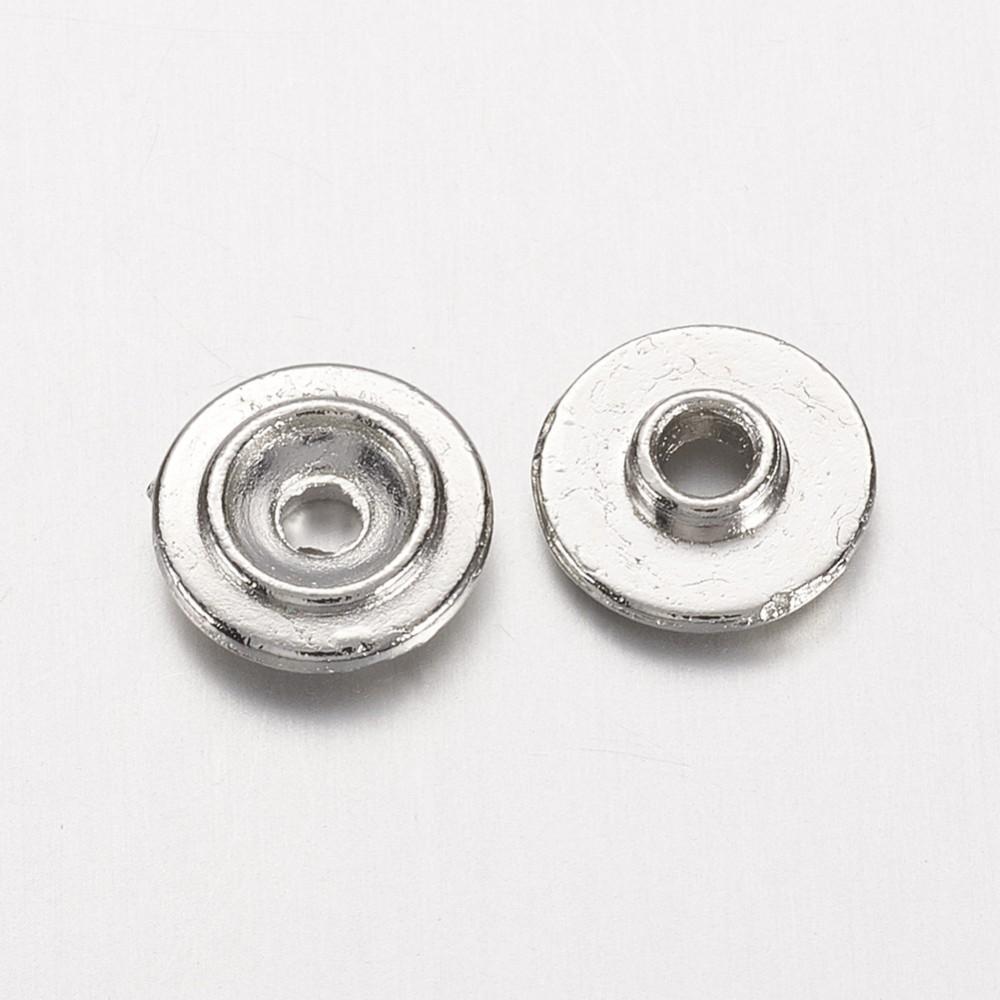 PandaHall_Brass_Bead_Spacers_Flat_Round_Platinum_8x2mm_Hole_2mm_Brass_Flat_Round