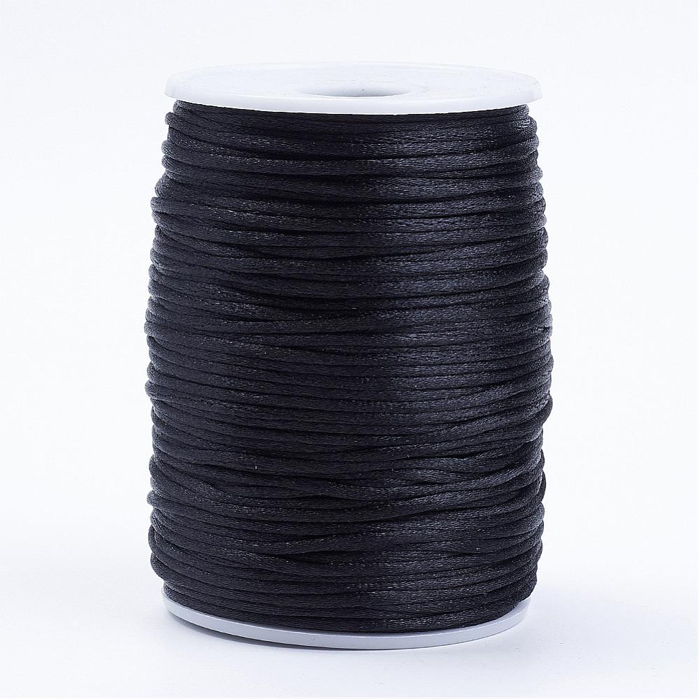 PandaHall_Polyester_Cord_Black_2mm_about_80yardsroll73152mroll_Polyester_Black