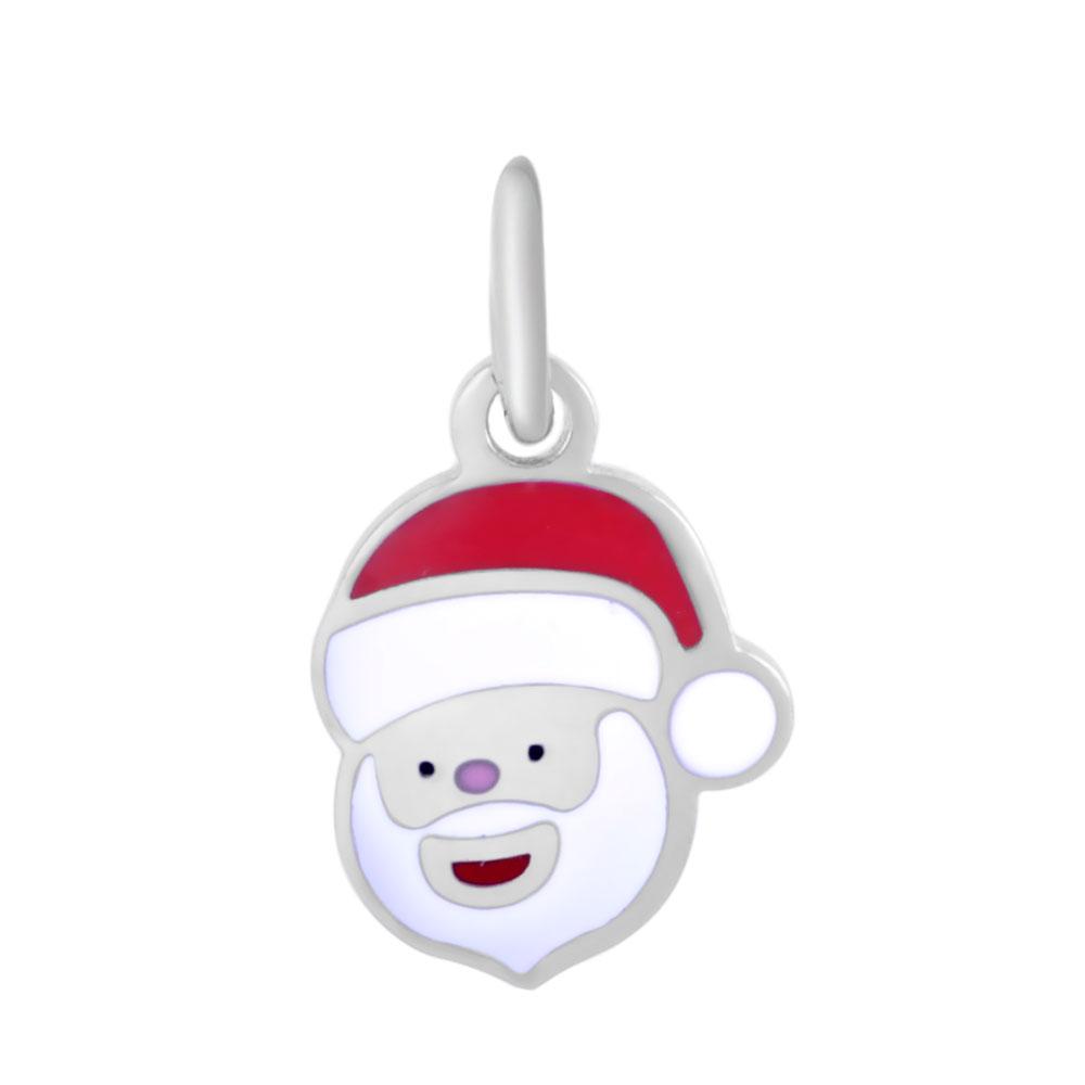 PandaHall 304 Stainless Steel Enamel Pendants, with Jump Ring, Christmas San..