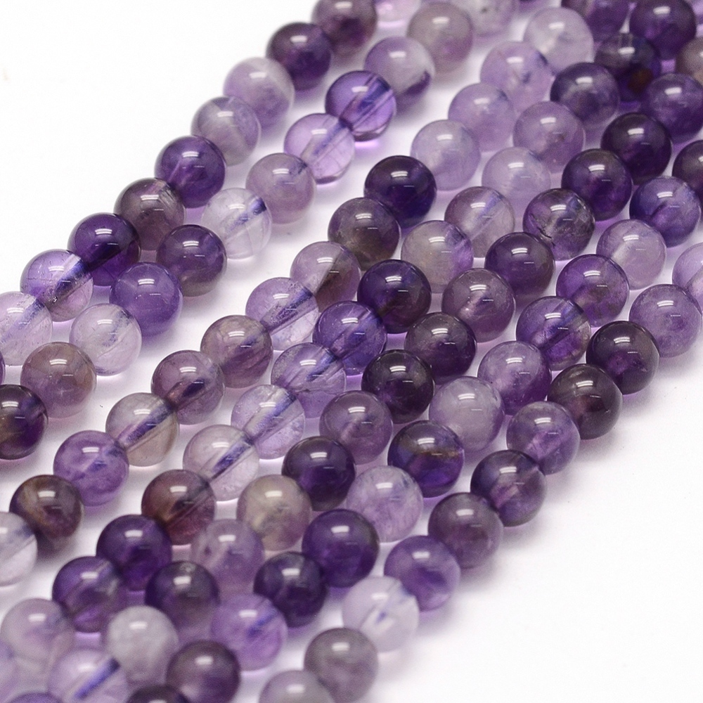 PandaHall_Natural_Amethyst_Beads_Strands_Round_4~45mm_Hole_1mm_about_88~90pcsstrand_15740cm_Amethyst_Round
