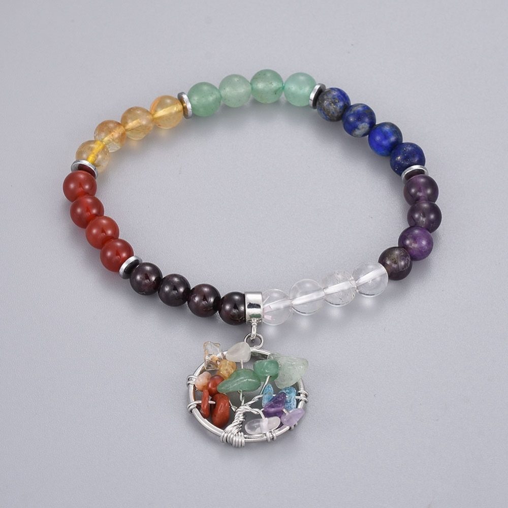 PandaHall_Natural_Mixed_Stone_Charm_Bracelets_with_Brass_Findings_Flat_Round_with_Tree_of_Life_21855cm~21456cm_beads