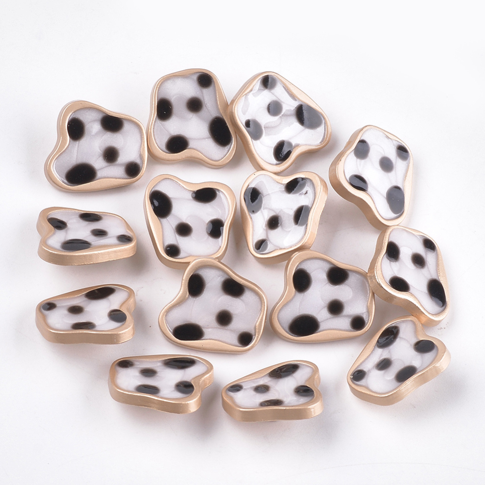 PandaHall_Zinc_Alloy_Shank_Buttons_with_Epoxy_Resin_Matte_Golden_Ivory_185x205x7mm_Hole_2mm_Alloy_Others_Ivory