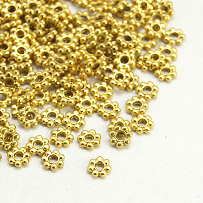 PandaHall_Tibetan_Style_Spacer_Beads_Lead_Free_and_Cadmium_Free_&_Nickel_Free_Flower_Antique_Golden_Color_about_4mm_in_diameter_12mm