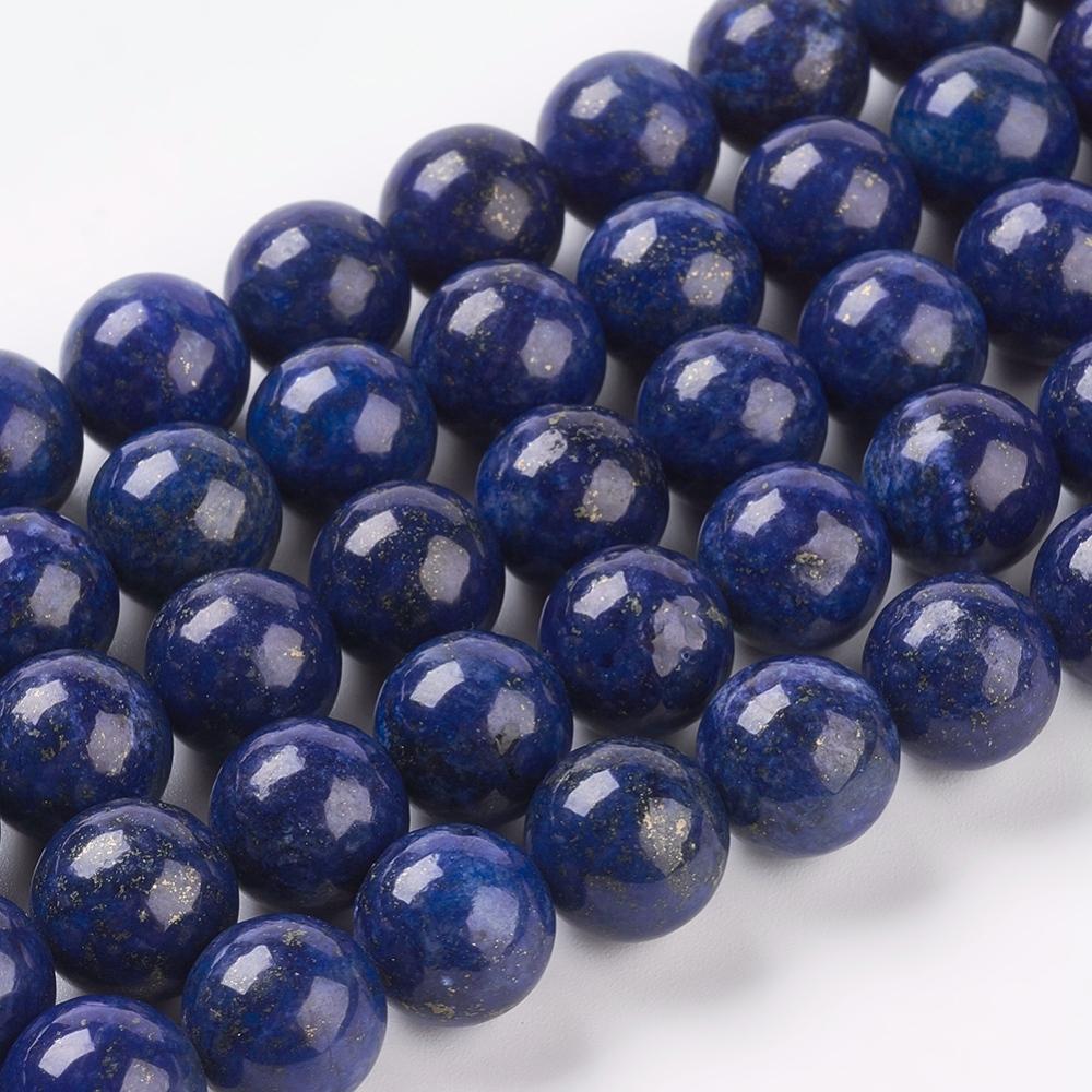 PandaHall_Natural_Lapis_Lazuli_Beads_Strands_Dyed_Round_Blue_10mm_Hole_1mm_Lapis_Lazuli_Round_Blue