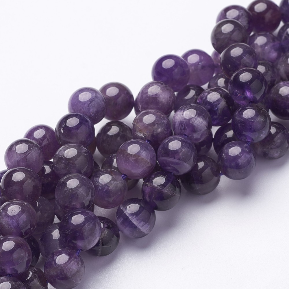 PandaHall_Round_Amethyst_Beads_Strands_about_10mm_in_diameter_hole_1mm_about_40pcsstrand_155_Amethyst_Round_Purple