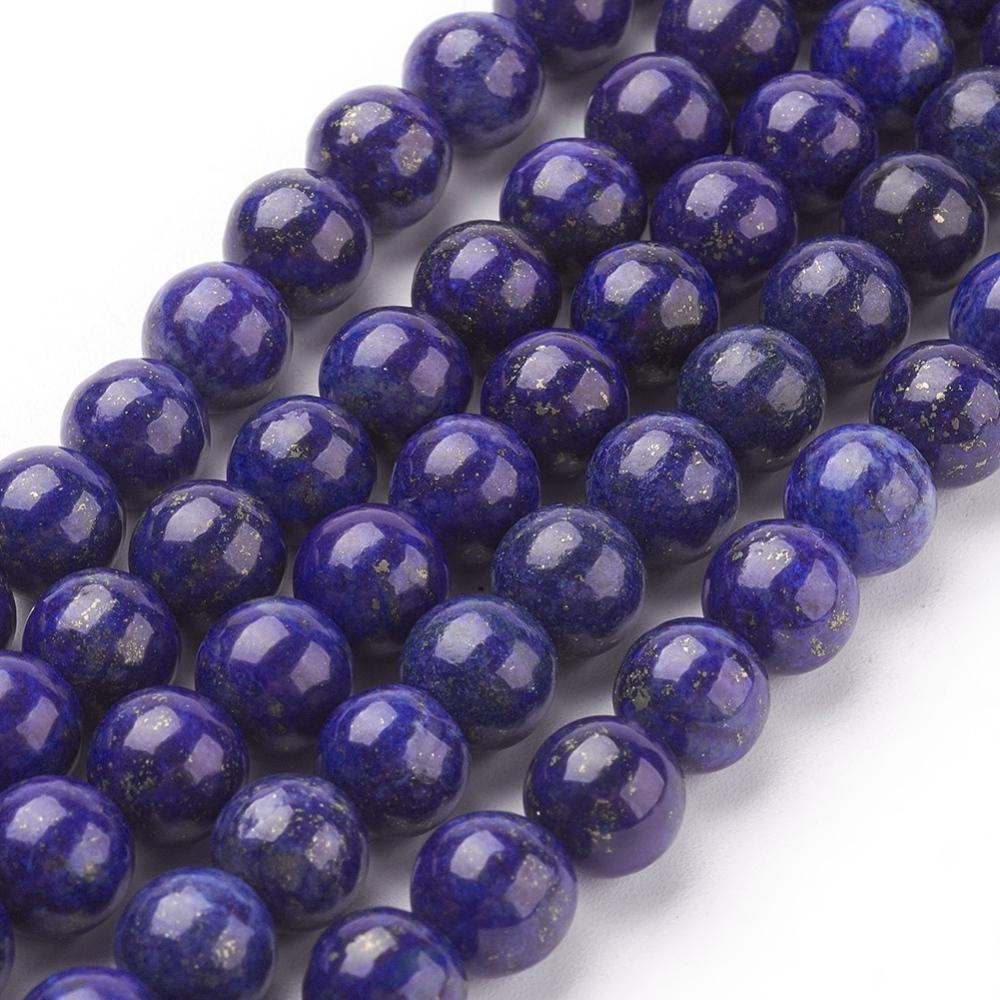 PandaHall_Natural_Lapis_Lazuli_Beads_Strands_Dyed_Round_Blue_8mm_Hole_1mm_Lapis_Lazuli_Round_Blue