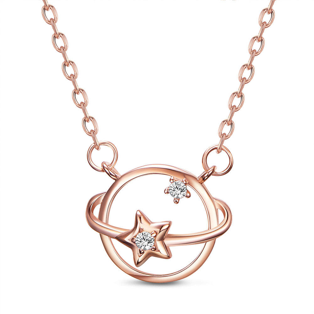 PandaHall_SHEGRACE&reg_925_Sterling_Silver_Pendant_Necklaces_with_Grade_AAA_Cubic_Zirconia_Planet_Rose_Gold_1538cm_Sterling_Silver