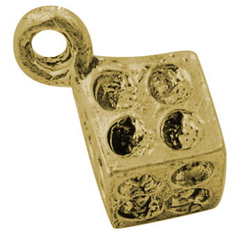 PandaHall_Alloy_Pendant_Rhinestone_Settings_Lead_Free_and_Cadmium_Free_Cube_Antique_Golden_7mm_long7mm_wide7mm_thick_hole_2mm_Alloy
