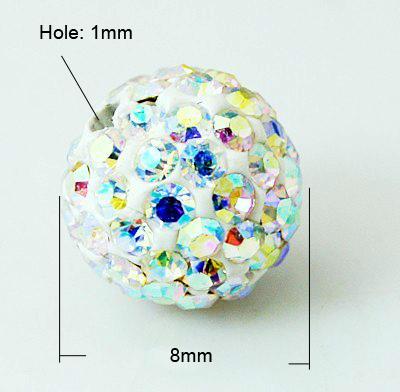 PandaHall_Pave_Disco_Ball_Beads_Polymer_Clay_Rhinestone_Beads_Grade_A_Crystal_AB_8mm_Hole_1mm_Polymer_ClayGlass_Rhinestone_Round