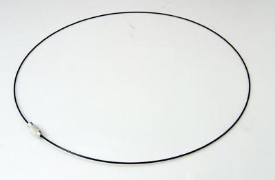 PandaHall_Steel_Necklace_Makings_with_Brass_Screw_Clasps_Platinum_Black_Inner_Diameter_145mm_4x125mm_1mm_Steel_Black
