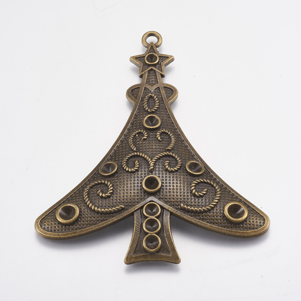 PandaHall_Christmas_Tree_Alloy_Pendant_Rhinestone_Settings_Antique_Bronze_80x68x2mm_Alloy_Tree