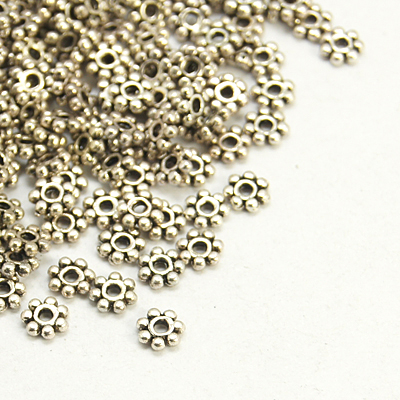 PandaHall_Antique_Silver_Tone_Retro_Style_Christmas_Snowflake_Spacer_Beads_Lead_Free_and_Cadmium_Free_&_Nickel_Free_about_4mm_in_diameter
