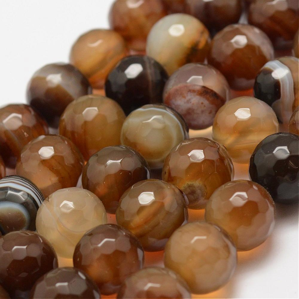 PandaHall_Faceted_Natural_Striped_AgateBanded_Agate_Beads_Strands_Round_Dyed_&_Heated_Camellia_10mm_Hole_15mm_about_38pcsstrand