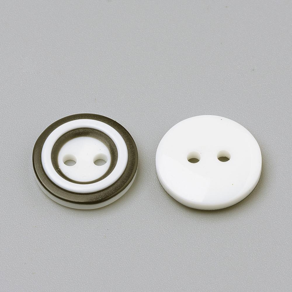 PandaHall_2Hole_Acrylic_Buttons_Flat_Round_White_15x3mm_Hole_2mm_Acrylic_Flat_Round_White