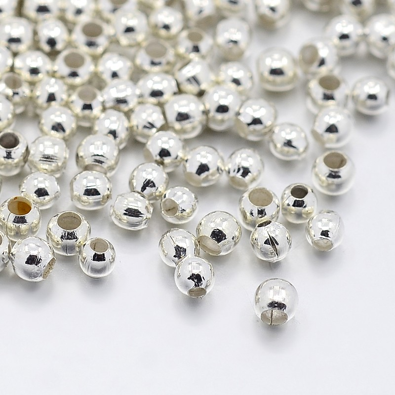 PandaHall_Iron_Spacer_Beads_Silver_25x2mm_Hole_15mm_about_590pcs10g_Iron_Round