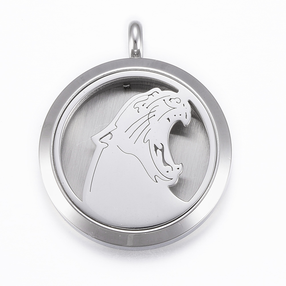 PandaHall_316_Stainless_Steel_Diffuser_Locket_Pendants_with_Perfume_Pad_and_Magnetic_Clasps_Flat_Round_with_Tiger_Stainless_Steel_Color