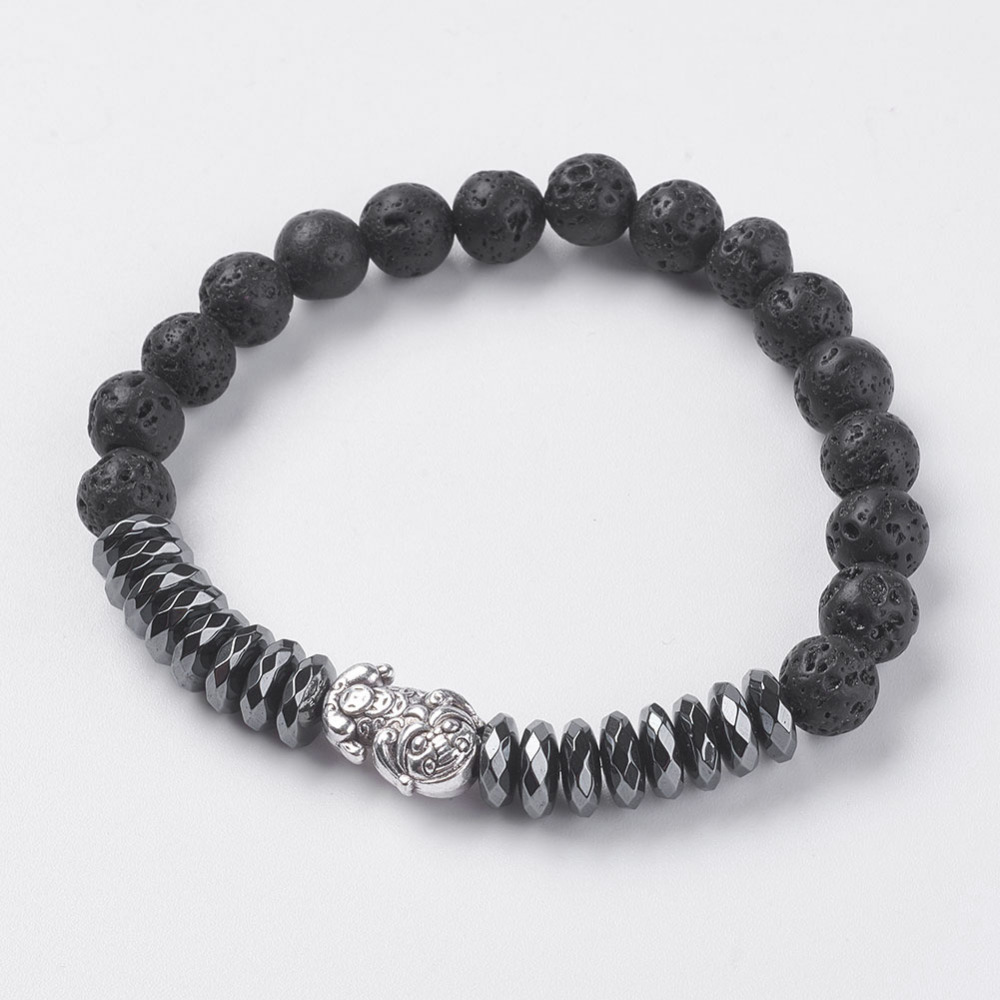 PandaHall_Synthetic_Hematite_Stretch_Bracelets_with_Natural_Lava_and_Alloy_Findings_Pi_Xiu_Antique_Silver_Original_Color_21457mm