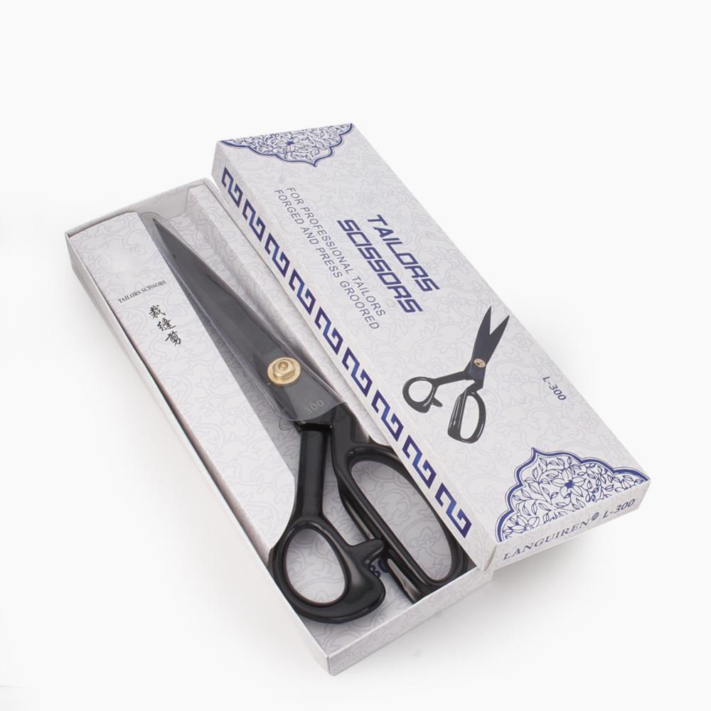 PandaHall_German_Steel_Tailor_Scissors_Sewing_scissors_Black_Gunmetal_310x95x14mm_Steel_Black