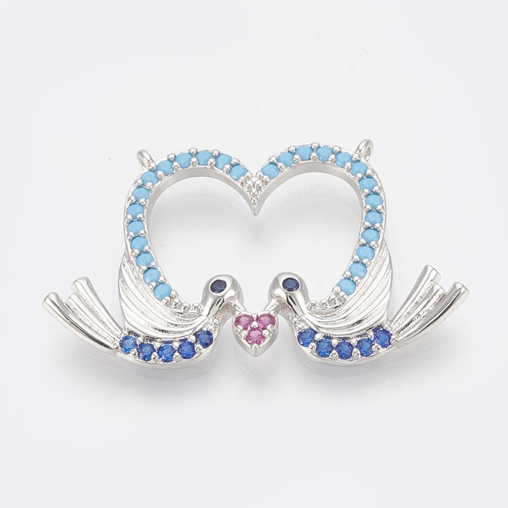 PandaHall_Brass_Micro_Pave_Cubic_Zirconia_Pendants_Heart_with_Leiothrix_Colorful_Platinum_17x28x25mm_Hole_08mm_BrassCubic_Zirconia