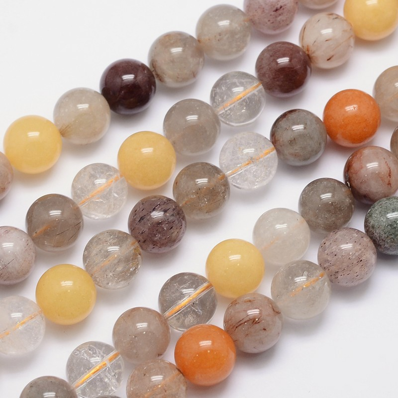 PandaHall_Natural_Rutilated_Quartz_Round_Bead_Strands_14mm_Hole_1mm_about_24pcsstrand_155_Rutilated_Quartz_Round
