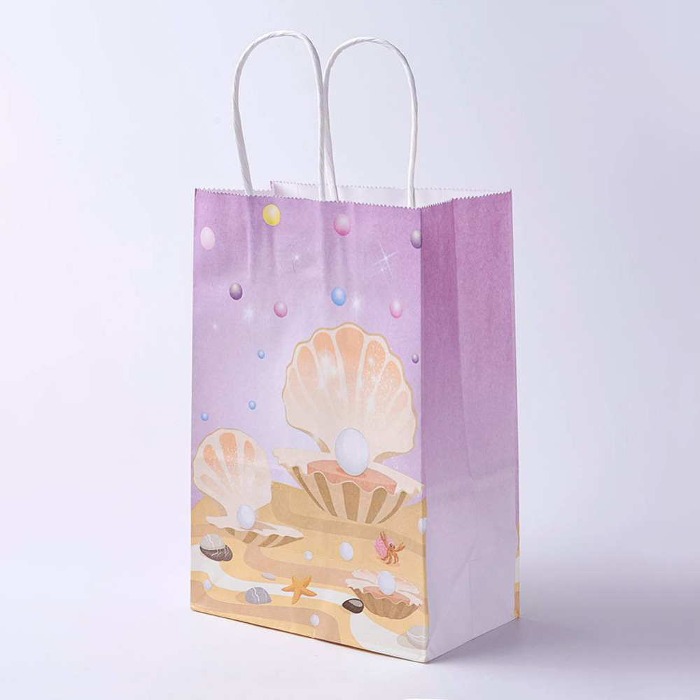 PandaHall_kraft_Paper_Pouches_Gift_Shopping_Bags_Ocean_Theme_Rectangle_Colorful_21x15x8cm_Paper