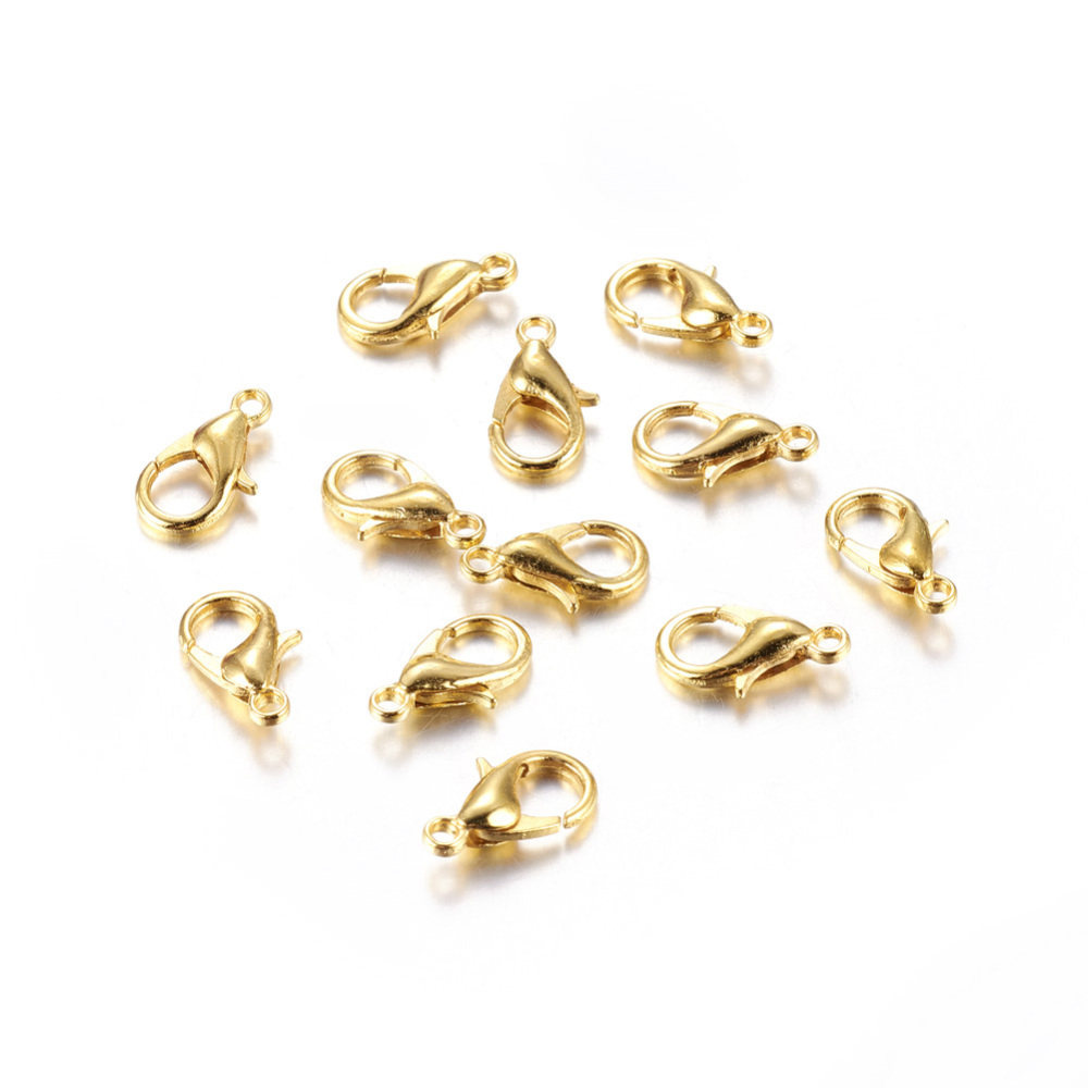 PandaHall_Zinc_Alloy_Lobster_Claw_Clasps_Nickel_Free_Golden_12x6mm_Hole_12mm_Alloy_Others