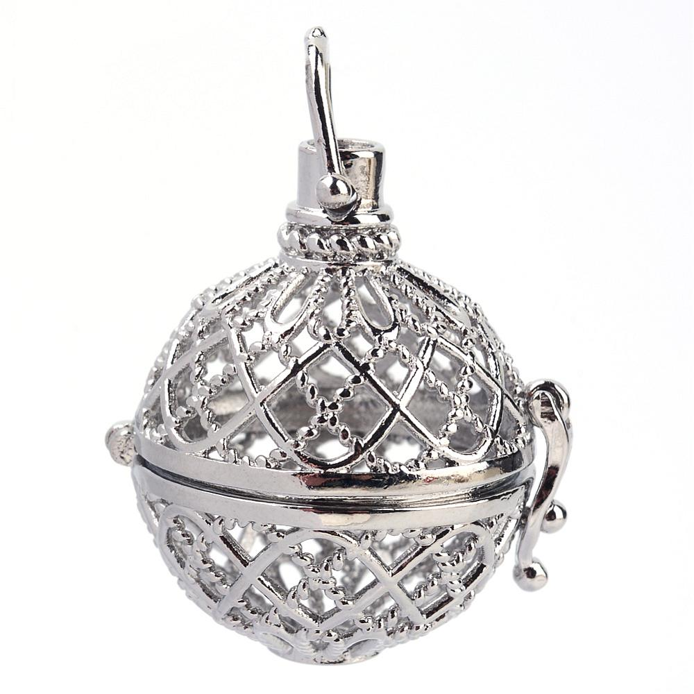 PandaHall_Rack_Plating_Brass_Cage_Pendants_For_Chime_Ball_Pendant_Necklaces_Making_Hollow_Round_Platinum_32x29x25mm_Hole_6x7mm_inner