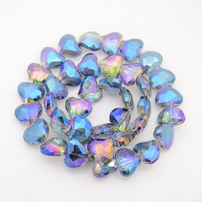 PandaHall_Faceted_Heart_Electroplate_Rainbow_Plated_Glass_Beads_Strands_CornflowerBlue_165x195x9mm_Hole_1mm_about_40pcsstrand_244