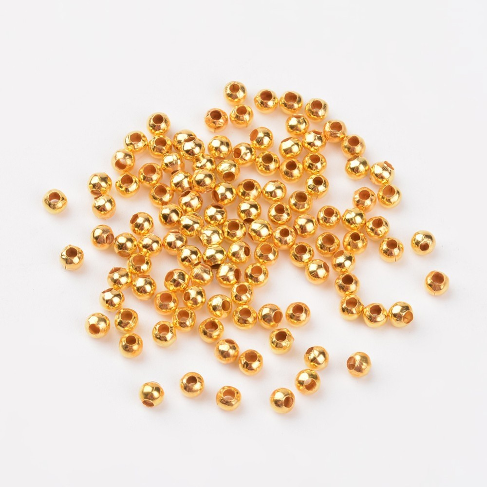 PandaHall_Iron_Spacer_Beads_Round_Golden_3mm_in_diameter_3mm_thick_Hole_12mm_Iron_Round