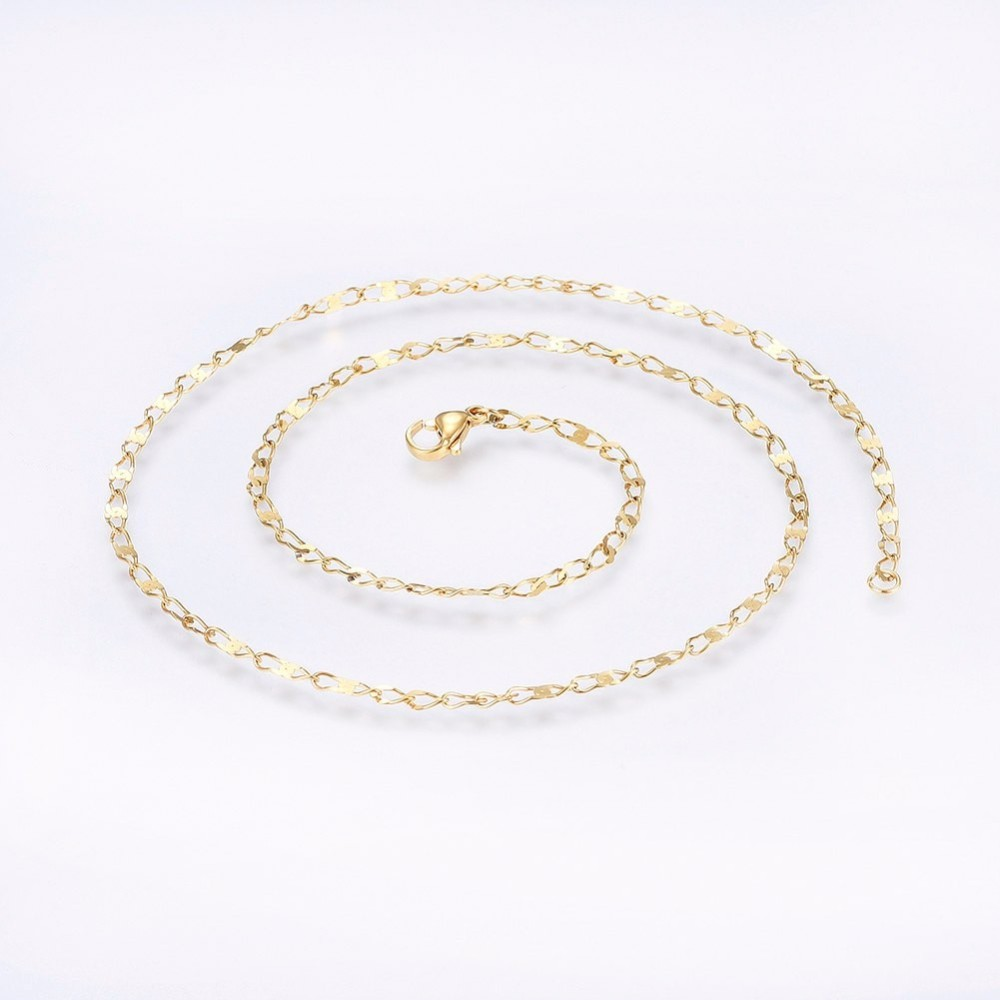 PandaHall_304_Stainless_Steel_Cable_Chain_Necklaces_Golden_188948cm_25mm_Stainless_Steel