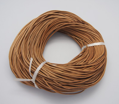 PandaHall_Cowhide_Leather_Cord_Leather_Jewelry_Cord_Peru_Size_about_2mm_in_diameter_100mbundle_Cowhide_Brown