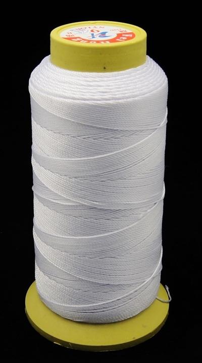 PandaHall Nylon Sewing Thread, 3-Ply, Spool Cord, AliceBlue, 0.33mm, 1000yards/roll Nylon Blue